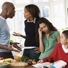 Ejemplos de conflictos familiares