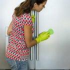 Como remover riscos de portas de geladeiras brilhantes