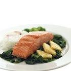 ¿Cuánto tiempo tarda en asarse el salmón?