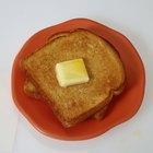 Como tostar pão no micro-ondas