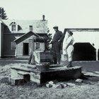 Herramientas para la excavación de pozos de agua