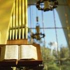 El atril para Biblia en la iglesia católica