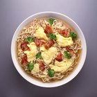 chinese food - bowl of egg drop soup