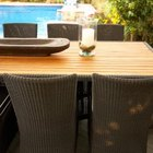Reapply varnish every one to two years if outdoor furniture is highly exposed to the elements.
