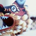 Como fazer um dragão chinês de papel