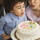 Ideas de escritura para los pasteles de cumpleaños