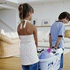 Quehaceres semanales de limpieza para niños