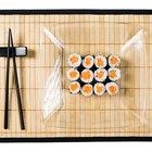 Cómo hacer esterillas para sushi