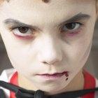 Como fazer sangue falso que não mancha sua pele