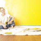 ¿Qué cosas necesitas para pintar la casa?