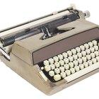 Cómo usar una máquina de escribir