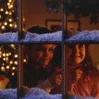 Cómo pintar las ventanas para navidad