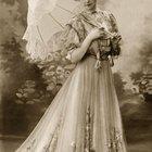 La antigua ropa victoriana