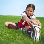 Bons alongamentos para educação física no jardim de infância