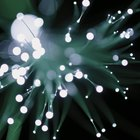 How to decorate a fibre optic tree