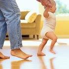 Razones por las que algunos bebés no caminan