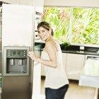 Cómo solucionar los problemas de la máquina de hacer hielo de un refrigerador Kenmore