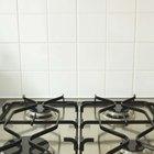 Partes de una cocina a gas