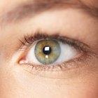 Como destacar olhos verdes