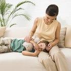 Enfermedad infantil y comportamiento