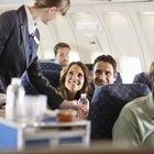 El salario medio de una azafata de vuelo