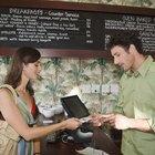 Funciones y responsabilidades de los cajeros de un restaurante