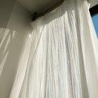 Cómo tomar las medidas para las cortinas del dormitorio