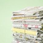 Como fazer adubo a partir de jornal