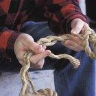 Como tecer uma corda naval com uma sapatilha