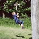 Como fazer uma tirolesa com uma corda