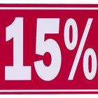 Cómo calcular un porcentaje válido