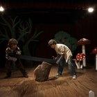 Como fazer árvores para cenários de palcos de peças teatrais