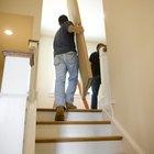 Cómo mover cosas pesadas por las escaleras