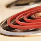 Temperatura del elemento eléctrico en un horno