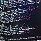 Cómo armar un menú francés