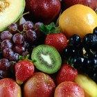 Lista de frutas sem amido