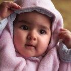 O que fazer com as bochechas ressecadas de meu bebê?