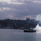 Sobre el barco de vapor