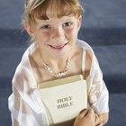 ¿Qué usan las niñas para la primera comunión?