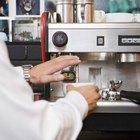 Las partes de una máquina de café