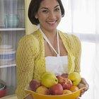 As maçãs duram mais quando armazenadas na geladeira?