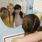Espejos decorados a mano para adolescentes