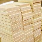 Cómo limpiar madera virgen