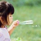 Actividades con burbujas para niños