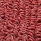 Como descongelar carne moída no microondas