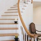 Tamaño promedio de los peldaños de escaleras