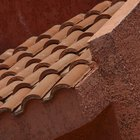 Que cor de paredes combina com um telhado de telhas vermelhas?