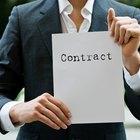 Tipos de cláusulas contractuales