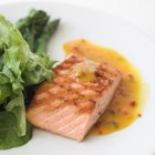 Salmon is one of the best sources of DHA omega-3 fats.