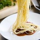 Como medir uma porção de espaguete